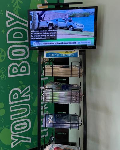 Retail Program Stand