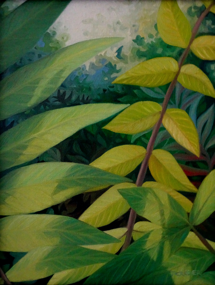 """<p style=""""font-size: 16px; line-height: 150%;""""><strong><em>September Sumac</em></strong>&emsp;<br />   oil painting&emsp;<br /> 12&rdquo; x 15&rdquo; 