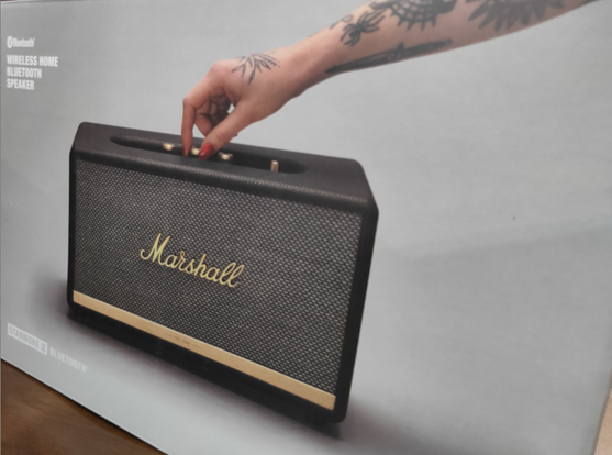 Marshall STANMORE II Bluetooth 產品箱正面照