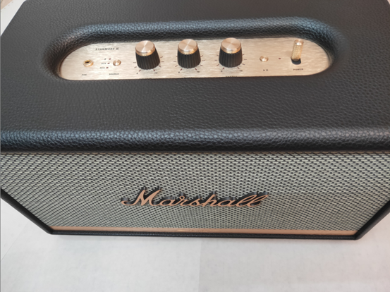 Marshall STANMORE II Bluetooth 產品本體正面圖