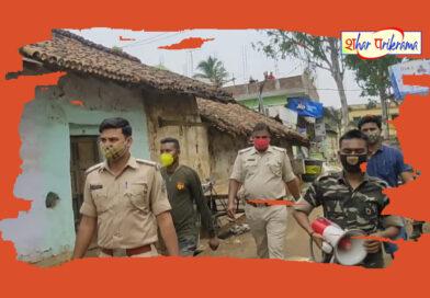 दुमका: सभी थाना क्षेत्रों में निकाला गया फ्लैग मार्च
