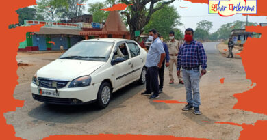 दुमका: जामा थाना के सामने और कैराबनी में चलाया गया मास्क जांच अभियान