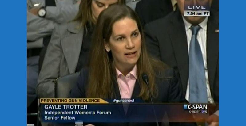 Gayle Trotter Senate Testimony