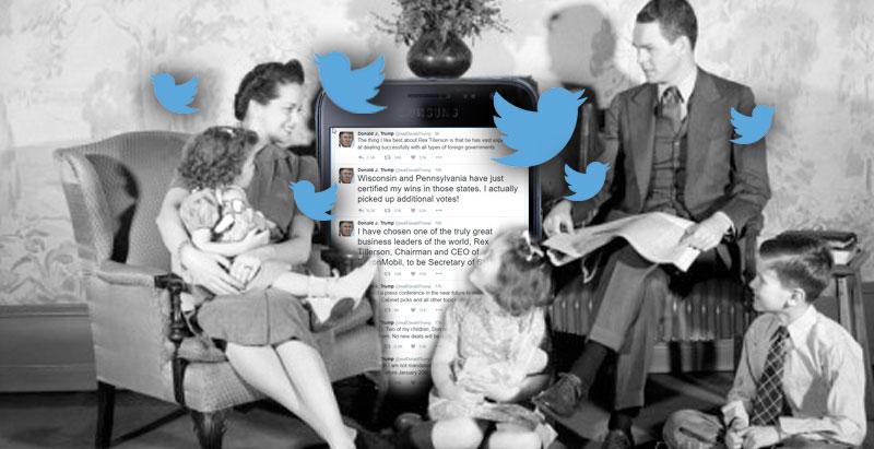 Trump's Fireside Tweets