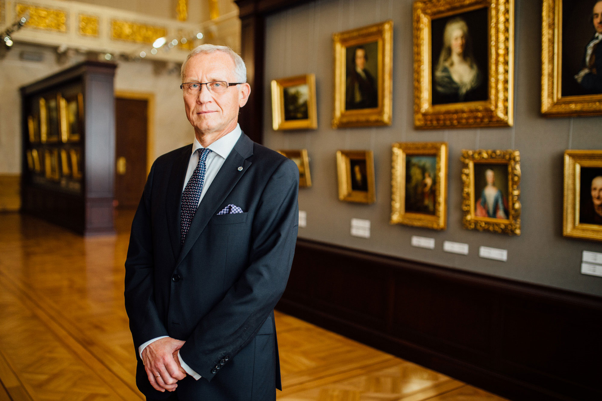 Ambassador Andris Teikmanis of Latvia