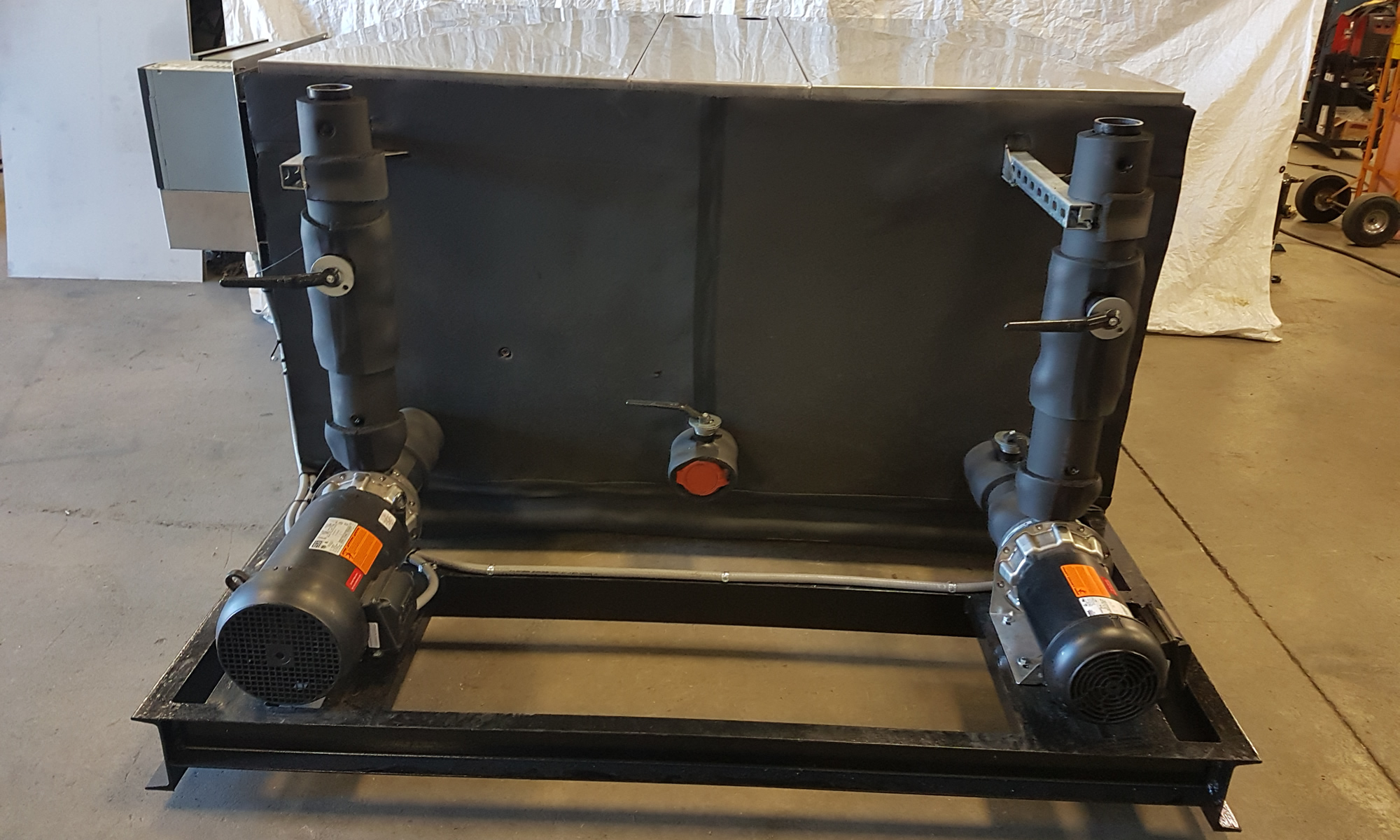 Double Pump Chilled Water Tank Set