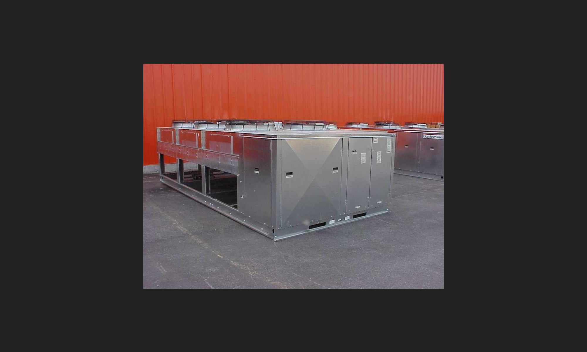 Outdoor Air Cooled Central Chillers