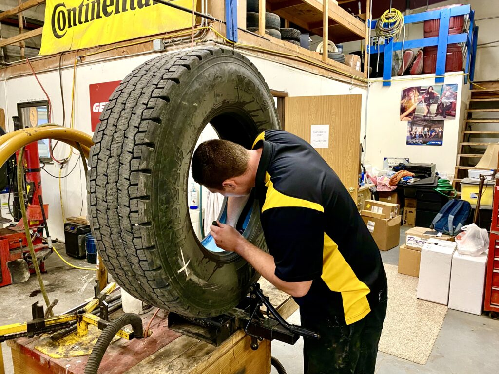 Semi and Trailer Tire Services