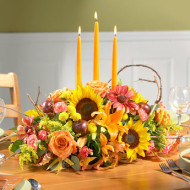 Beautiful Flower Centerpieces for Thanksgiving