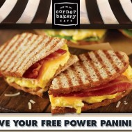 *LIMITED TIME FREEBIE!* Corner Bakery Cafe: Reserve Online to Get Your Free Power Panini Thin!