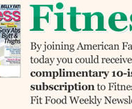 FREE Subscription to Fitness Magazine – First 4,500 Respondents