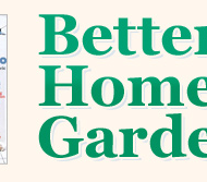 FREE One Year Subscription to Better Homes & Gardens Magazine (1st 25,000 Only)