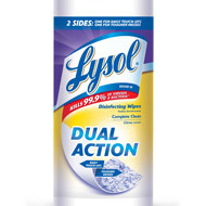 FREE LYSOL® Dual Action Wipes (With Rebate Mail–In Offer)
