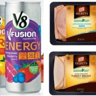 Safeway Just for U Rewards Members: Freebies to Score – FREE V8 Fusion Energy Drink, Oscar Mayer Deli Selects + More