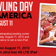 Free Game of Bowling on National Bowling Day