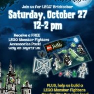 Toys R Us: LEGO Bricktober FREE Event for Kids on October 27th