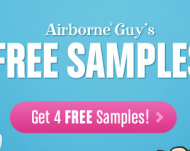 Request Your 4 FREE Airborne Samples (Facebook)
