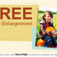 Walgreens Photo: FREE 8×10 Photo Print ($3.99 Value!) + FREE Store Pick-Up Today and Tomorrow Only