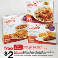 Target: Lean Cuisine Entreees, Only $1.10 Each WYB 10 with Coupons and After $5 Target Gift Card + FREE Lunch Bag Offer