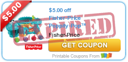 $5.00 off Fisher-Price Poppity-Pop™ Musical Dino