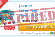 Toys R Us: Fisher Price Buy One, Get One Free Sale (TODAY ONLY) + HIGH VALUE Fisher Price Toy Coupons!