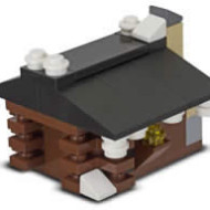 LEGO Stores:  FREE LEGO Log Cabin Mini Model Build on February 5th