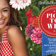 Bath & Body Works Pick to Win Game: Win Shower Gels, Lotions, Candles + Score a Coupon for Free Signature Collection Item with Purchase!