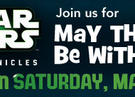 Toys R'Us: FREE LEGO Star Wars Mini Build Tomorrow (5/4/13)