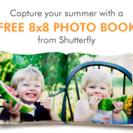 Free 8×8 Hard Cover Photo Book from Shutterfly (New Customers Only!) – Just Pay $7.99 Shipping