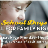 Olive Garden: FREE Kid's Meal with Adult Dinner Entree (Valid Through 9/29)