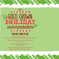 Hallmark Gold Crown Holiday Sweeps: Win $5,000 Cash Prize, Gift Cards and More + $2 Off $10 Purchase Coupon