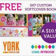 York Photo: FREE 5×7 Photo Book (A $10.99 Value!) + 60 FREE Prints for New Customers!