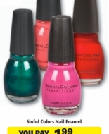 *HOT* Rite Aid Deals: Score FREE Sinful Colors Nail Enamel, 9¢ Almay Liquid Lip Balm, $5 Off $25 Gap Gift Cards + More!