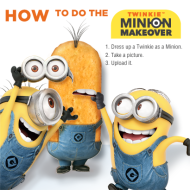 Twinkie Minion Makeover Sweepstakes: Give Twinkies A Minion Makeover and Win A Home Theater System, Despicable Me 2 Blu-rays and More!