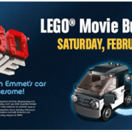 "Reminder! Toys ""R"" US: FREE LEGO Movie Building Event Tomorrow, Feb 8th"