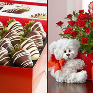Valentine Gift Idea: $15 for $30 Voucher to Spend at 1-800-FLOWERS.COM – Limited Time Offer Only!