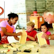 Upcoming FREE Kids Workshops from Lowe's Build & Grow and Home Depot = Great Mother's Day Gifts!