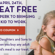 Olive Garden: FREE Kid's Meal with Purchase of an Adult Entree (TODAY ONLY)