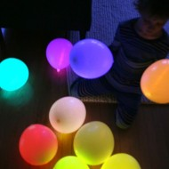 Fun To Try This Weekend: DIY Glow Stick Balloons