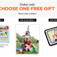 Shutterfly *TODAY ONLY*: Score a FREE Mouse Pad, A 16×20 Print or 10 Cards – Just Pay Shipping