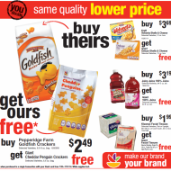 """Giant Food """"Buy Theirs, Get Ours Free"""" Challenge: Get Giant Food's Own Brands For Free (Through August 3rd)"""