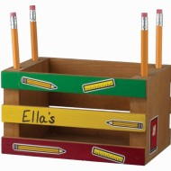 Home Depot FREE Kids Workshop: Build a Mini Crate Pencil Holder Tomorrow (August 2nd)