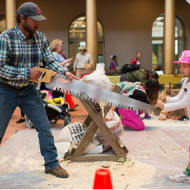 Local News: World's Tallest Toy at The Big Build Festival – National Building Museum, Washington D.C. {Sept 20th}