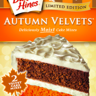 New Limited Edition Cake and Cupcake Mixes for Fall from Duncan Hines + Sweet and Festive Fall Desserts {Recipes}