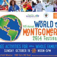 Local Event: Celebrate the Rich Cultural Heritages of the DC Area at the World of Montgomery Festival {October 19}