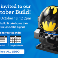 ToysRUs: FREE LEGO Bat Signal Event Today (10/18)