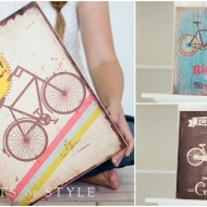 Fun Home Decor: Vintage Bike Sign, Only $11.95 Shipped