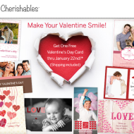 Cherishables.com: FREE Personalized Valentine's Day Card with FREE Shipping (Thru 1/22)