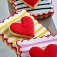 Sweet Valentine's Day Decor, Recipe and Craft Ideas