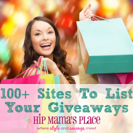 100+ Sites To List Your Giveaways